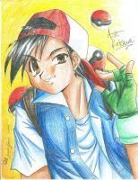 Ash THE AWESOME Ketchum by eeveelover