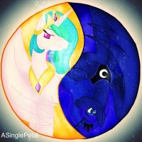 .: Suns Ying and the Moons Yang :. by ASinglePetal