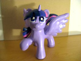 Twilight Sparkle sculpture COMPLETE! by AleximusPrime