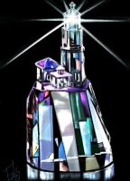 Crystal lighthouse by E by Ellee22