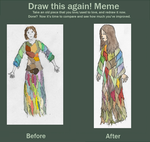 Draw Aiguillette Again Meme by Stalacyn
