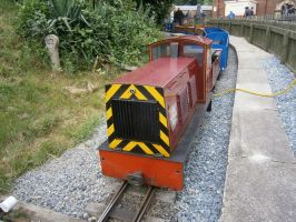 Miniature train 2 by scifiguy9000