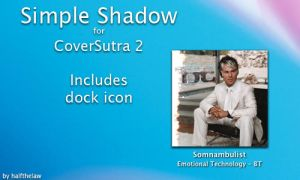Simple Shadow for CoverSutra 2 by halfthelaw