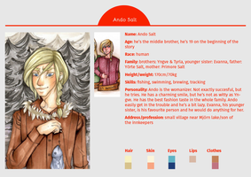 CHARACTER SHEET: Ando Salt by MadBlackie