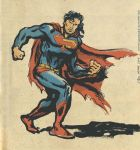 Grunge Superman by TheCosmicBeholder