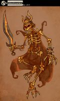 Skeleton by Garvals