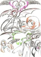 Code Geass Girls by Plum-Blossom-Sketchy