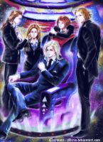 The aliens by ClAyMoRe--MiRiA