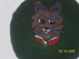Wolfcat Cross Stitch by Joce-in-Stitches