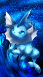 Day 417 - Showers | Vaporeon by AutobotTesla