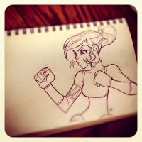 The Legend of Korra Quick Sketch by Zatransis