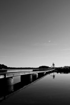 Landscape Black and White by Xudex