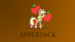 Minimalist Wallpaper - Applejack by Zoekleinman