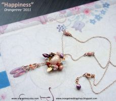 """Happiness"" necklace by littleorangetree"