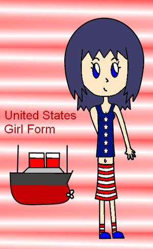 United States Girl Form by LusitaniaAngel313