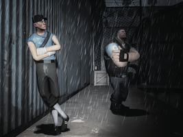 Rain on 2fort by MrComrade