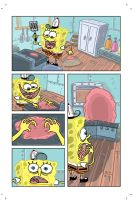 SpongeBob Pitch PG1 by deanrankine