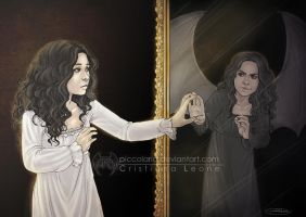 The stranger in the mirror by CristianaLeone