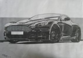 Aston Martin DBS by solarstorm9