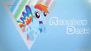 Rainbow Dash Wallpaper by Eisluk