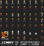Jimmy Sprites 2013 by crookedcartridge
