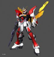 TURN DELTA GUNDAM 03 by Ladav01