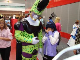 Cell e Hinata by limone86