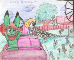 -late- Happy Birthday Nathan/Yoshi by Freeze-pop88