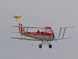 Tiger Moth - Barnstorming Old Warden Airshow by davepphotographer