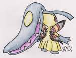 Old Pokemon, New Type 6: Mawile by Shabou