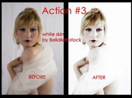 Action no.3 -white skin by bellalleb-stock