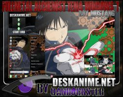 Roy Mustang Theme Windows 7 by Danrockster