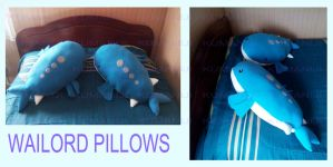 WAILORD PILLOWS 70CM by chocoloverx3