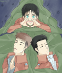 Jean, Marco and Eren by EGOIST-taiki