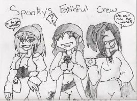 The Spooky Crew by Pain-of-Insanity