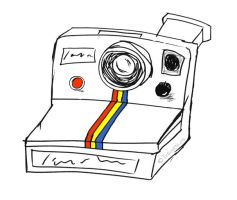 Polaroid Camera by tracieteephotography