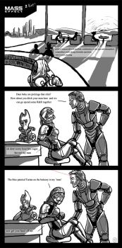 Mass effect: better reach. by CircuitDruid