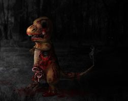Zombified Charmander by Zyari
