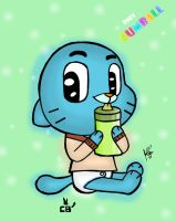 Baby Gumball by davidcool1989