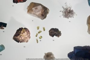 Museum : Crystals 04 by taeliac-stock