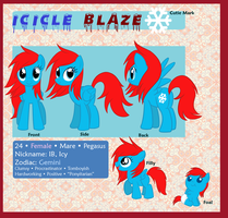 Icicle Blaze Reference 2013 by owlity