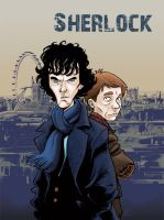 Sherlock colored by gianmac