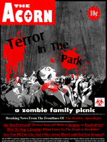 ACORN zombie poster by BlakkReign
