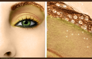 Eye makeup colourization by FiFiiiii