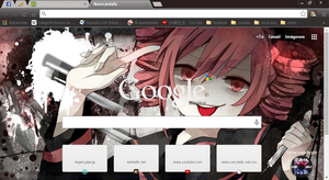 Teto theme google chrome by alechivis