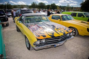 Flamed El Camino by AmericanMuscle