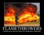 Demotivational: Flamethrowers2 by Megamothius
