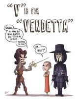 V Is For Vendetta by OtisFrampton