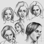Expression studies 1 by FelFortune