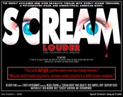 Spoof Scream Sequal Poster by Special-K-001